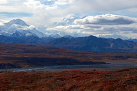 Mt. Brooks and Denali from near Eielson Visitor Center